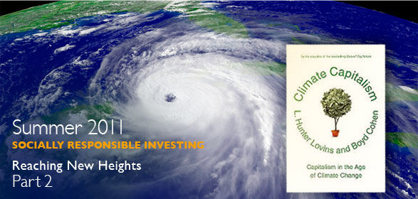 Summer 2011: Socially Responsible Investing: Reaching New Heights - Part 2