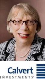 Barbara Krumsiek, CEO & President of Calvert Investments
