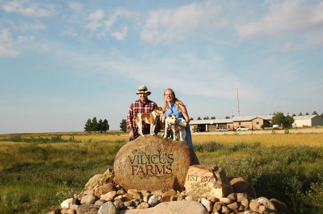 Doug and Anna at Vilicus Farms